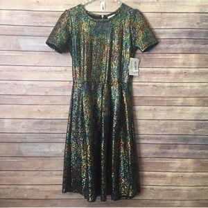 LulaRoe Elegant Amelia Unicorn Mermaid Dress